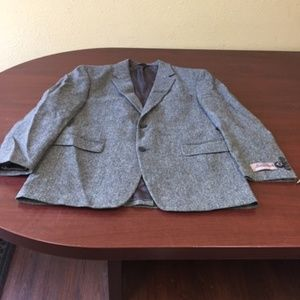 NWT-Jos A Bank fleece Rich Jacket-530